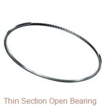 Thin section flat crossed roller bearings SX011836